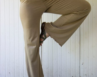 Bamboo Lounge Pants - Organic Fabric - Eco Fashion - Made to Order Choose Your Color
