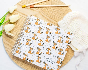 Birth - 5 Years Baby Memory Book 'Mr Fox'