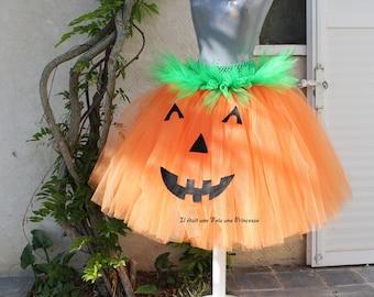 Pumpkin Halloween Tutu
