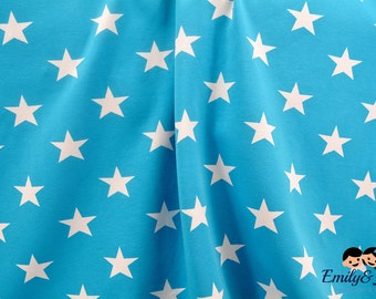 """Fabric Jersey """"Red stars"""" Vicente"""
