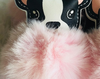 Faux Mink Keychains