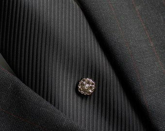 Gold Tie Tack, Gold Tie Pin, Mens Gift, Vintage Style Tie Tack, Mens Fashion Accessories, Gift for Groomsmen, Suit and Tie Accessories