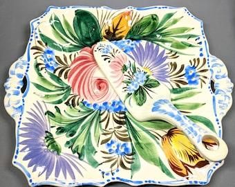 Vintage Nove Nova Rose Platter