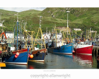 Mallaig Harbour, Lochaber
