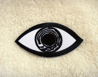Eye eyeball Applique Iron on Patch