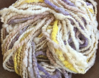 Subtle, Handspun Art Yarn,  Super Bulky, Y214