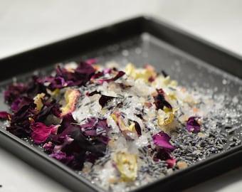 Diva Bath Salts; Rose Bth Salts; Lavender Bath Salts; Himalayan Pink Salt Bath
