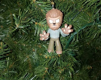 Horror Christmas Ornament Wolfman
