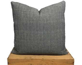 "Hmong Pillow Cover | Gray | 18""x18"""