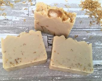 PREORDER All Natural Soap, Handmade Soap, Artisan Soap, Meditation, Cold Process, Rock Soap, Gemstone Soap, Essential oils, Citrine