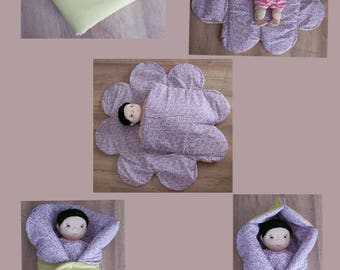 cover multifunction baby flowers mobile