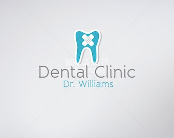Custom Premade Dentist Logo Design/ Dental Clinic Logo/ Business Cards