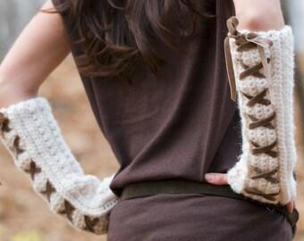 Toasty Arm Warmers Crochet Pattern PDF
