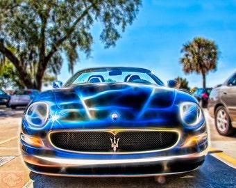 Maserati Giugiaro - Fine Art Photography Print Picture