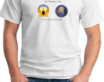 EEMOGEE Art Imitates Art - Mens T-Shirt