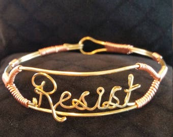 RESIST bracelet, FUNDRAISER
