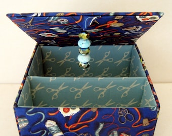 storage boxes keepsake gift, trinket box, sewing box, jewelry box, memory box