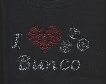 Bunco Rhinestone T Shirt