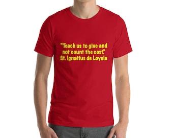 St. Ignatius  Short-Sleeve T-Shirt Yellow Lettering