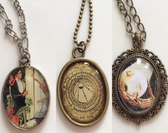 Hands of Fortune Pendant Necklaces