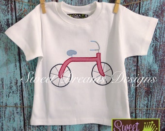 Boys Bicycle OOAK shirt! Available in long or short sleeves