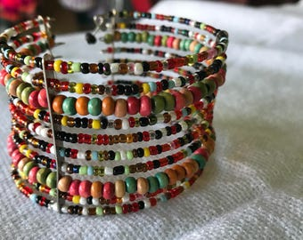 UNIQUE Mexican Beaded Bracelet from Mexico City