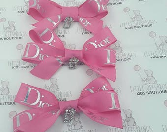 Dior Inspired Bow