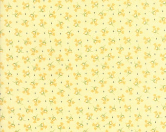 Pepper and Flax - Tulip in Flax Yellow: sku 29043-15 cotton quilting fabric by Corey Yoder for Moda Fabrics