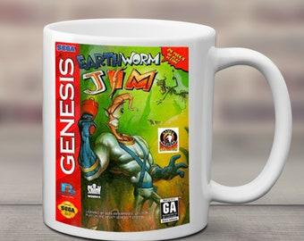 Earthworm Jim Mug