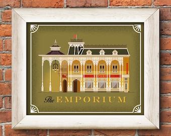 Main Street Emporium Large Print
