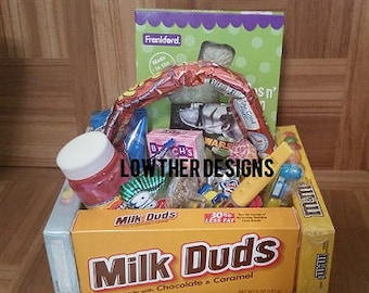 Kids easter gifts etsy candy basket easter basket kids basket adult basket gift for kids negle Gallery
