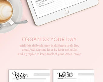 iPad PRO - Weekly planner sheet for iPad - for procreateapp