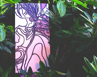 "Natasha [acrylic on canvas, 10x20""]"