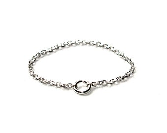 chain ring and little circle