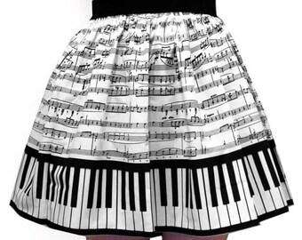 Classic Piano Full Skirt