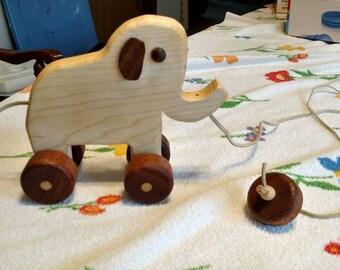 Little buddy elephant pull toy.
