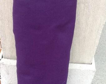 """Purple Felt 72"""" wide per yard"""