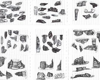 Architect sketches #9
