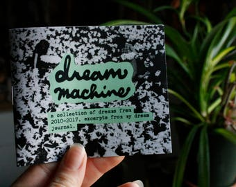 dream machine mini zine / dreams zine / perzine