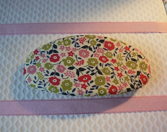 Liberty of London Hair Barrette liberty Fairford Oval Hair Clip Floral pattern Ponytail Holder Ladies Hair Accessory oval french barrette
