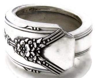 Spoon Ring All Sizes Milady 1940
