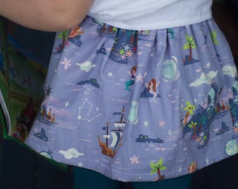 Neverland skirt, Peter Pan, Suspender dress, disney dress, baby girl, two piece, girls clothes, suspender, suspender dress, birthday outfit