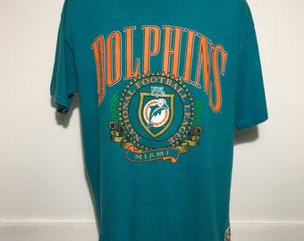 Vintage Miami Dolphins Tee XL