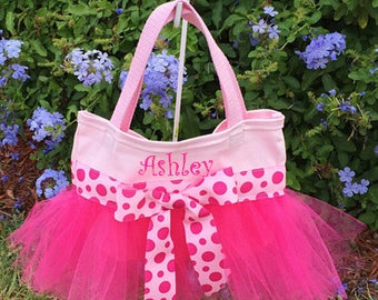 Magenta and Pink Tutu Bag/Ballet Bag