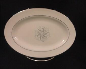 Vintage Homer Laughlin Celeste Large and Small Platter