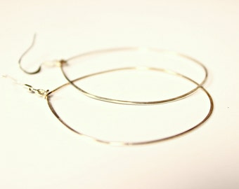 Silver Hoops Earrings