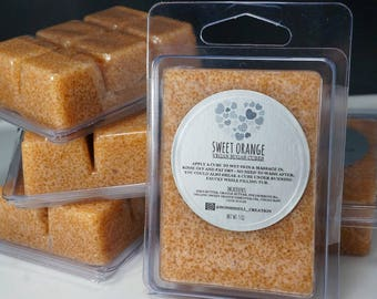 Sweet Orange Sugar Scrub Cubes