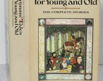 Vintage 1st Edition Grimm's Tales for Young and Old: The Complete Stories by Ralph Manheim Cinderella Sleeping Beauty Snow White HC DJ VGC