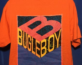 VTG 80s 90s DEADSTOCK W/ tags Bugle Boy t shirt *L/XL