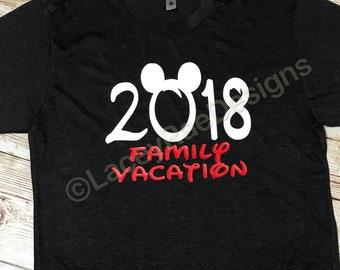 Disney Family Shirts 2018, Matching Family Disney, Disney shirt, Matching Disney Shirts for Family, Mickey Mouse Shirt, Disney Trip Shirt